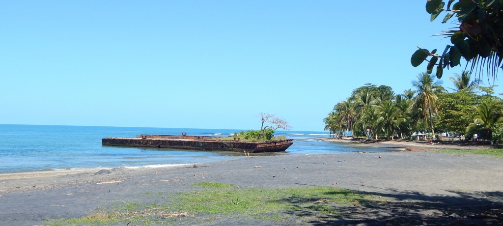 Ship wreck, The Curse of Puerto Puerto Viejo, Costa Rica