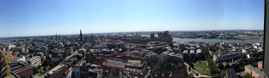 24 Stunden St Hamburg Aussicht Michel