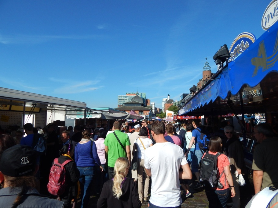 24 Stunden in Hamburg Fischmarkt
