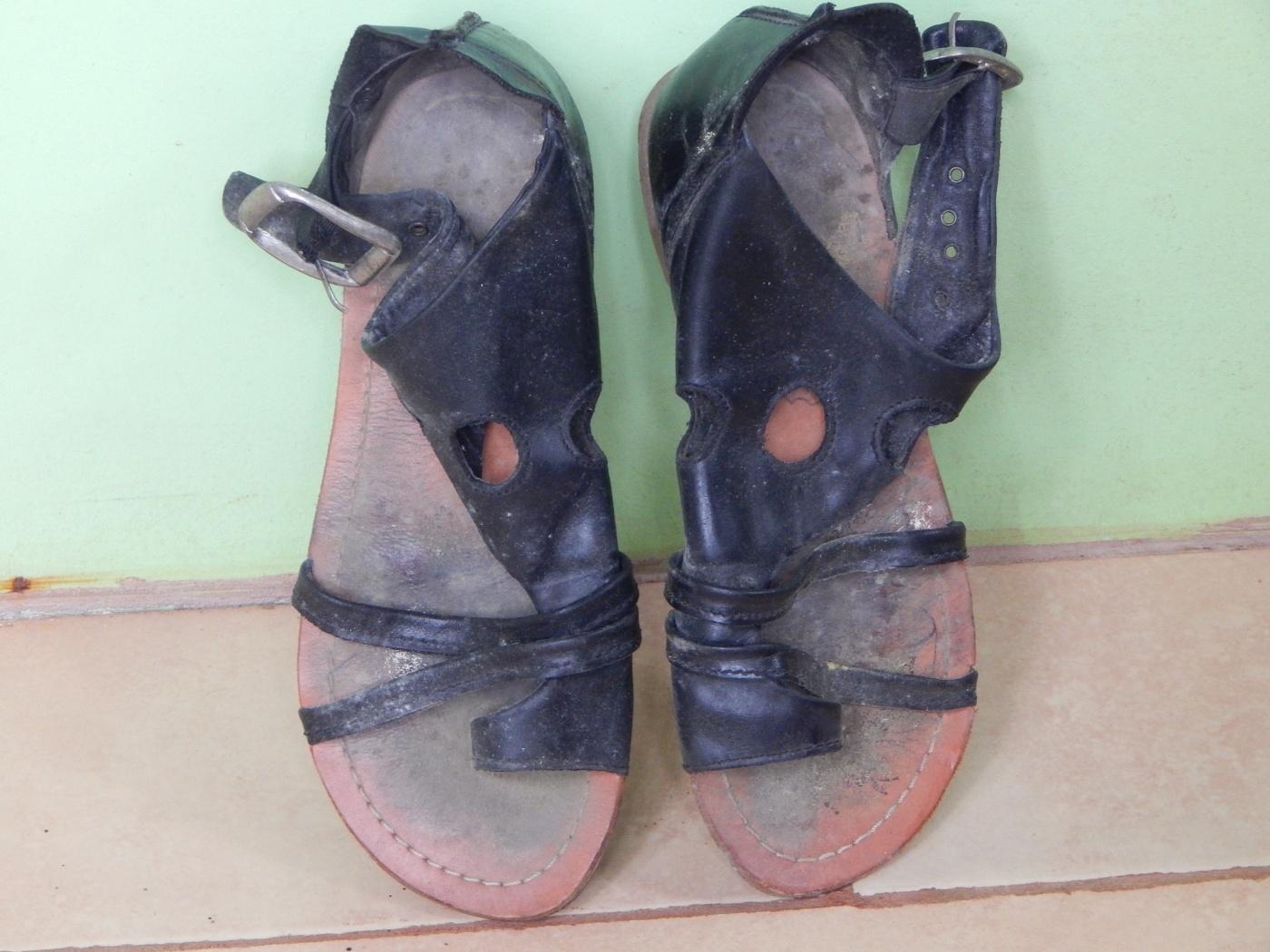 Schuhe im Paradies