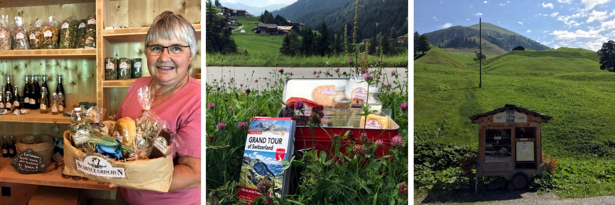 Grand Tour of Switzerland SwissGrandTour Roadtrip Schweiz Campervan Snackbox Scarnuz Grischun