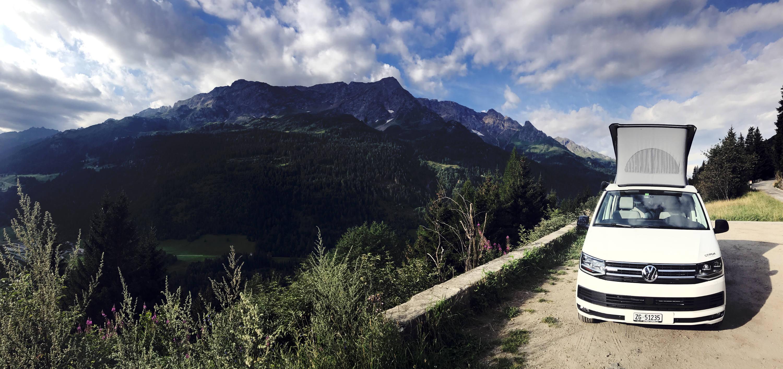 Grand Tour of Switzerland CityPeak Campers Roadtrip Schweiz Urlaub VW T6