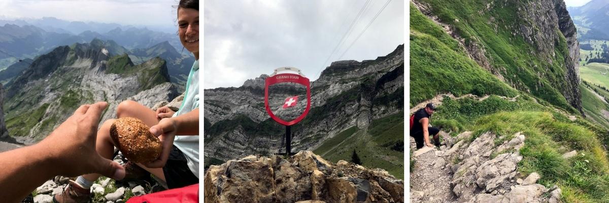 Grand Tour of Switzerland #05: Der Rheinfall, Europas grösster Wasserfall, seine Umgebung und unsere erste Bergwanderung