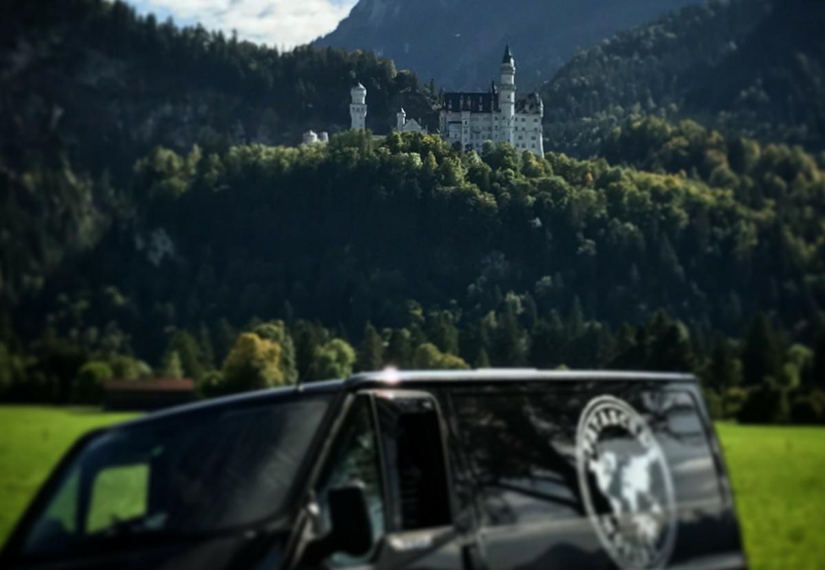 Romantische Strasse Main Alpen Neuschwanstein