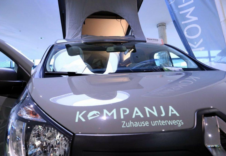 CMT 2018 Stuttgart Urlaubsmesse Wohnmobil Campingsbus Renault Traffic Campervan Patascha Wohnmobil schlafdach renault traffic