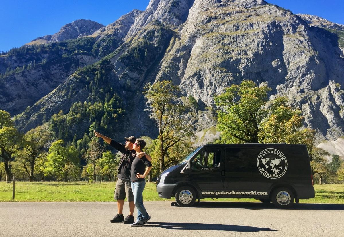 Patascha Hinterriss-Eng Mautstrasse Eng Grosser Ahornboden Naturschutz Klein-Kanada Betty Roadtrip Mautrasse Österreich Panoramastrasse Europa Ferienstrasse