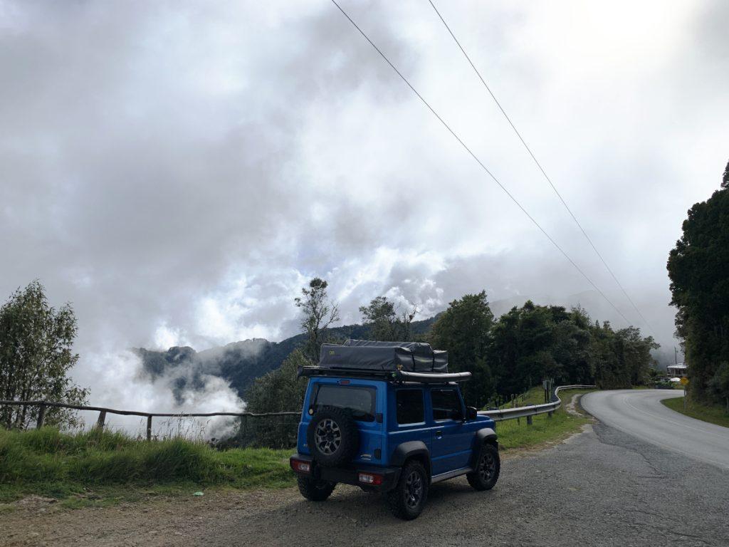 Patascha Reiseblog Roadtrip Costa Rica Rundreise Reiseroute Dachzelt Nomad America mieten Autovermietung offroad Camping wild campen Sehenswürdigkeiten Informationen Öffnungszeiten Nationalpark Quetzal Nebelwald Cloud Forest Dschungel Cerro de la Muerte höchste Strasse