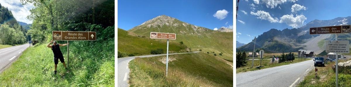 Route des Grandes Alpes Alpenstrasse Frankreich Roadtrip Road Trip Reise Wohnmobil Camper Camping Berge Mittelmeer Traumstrasse