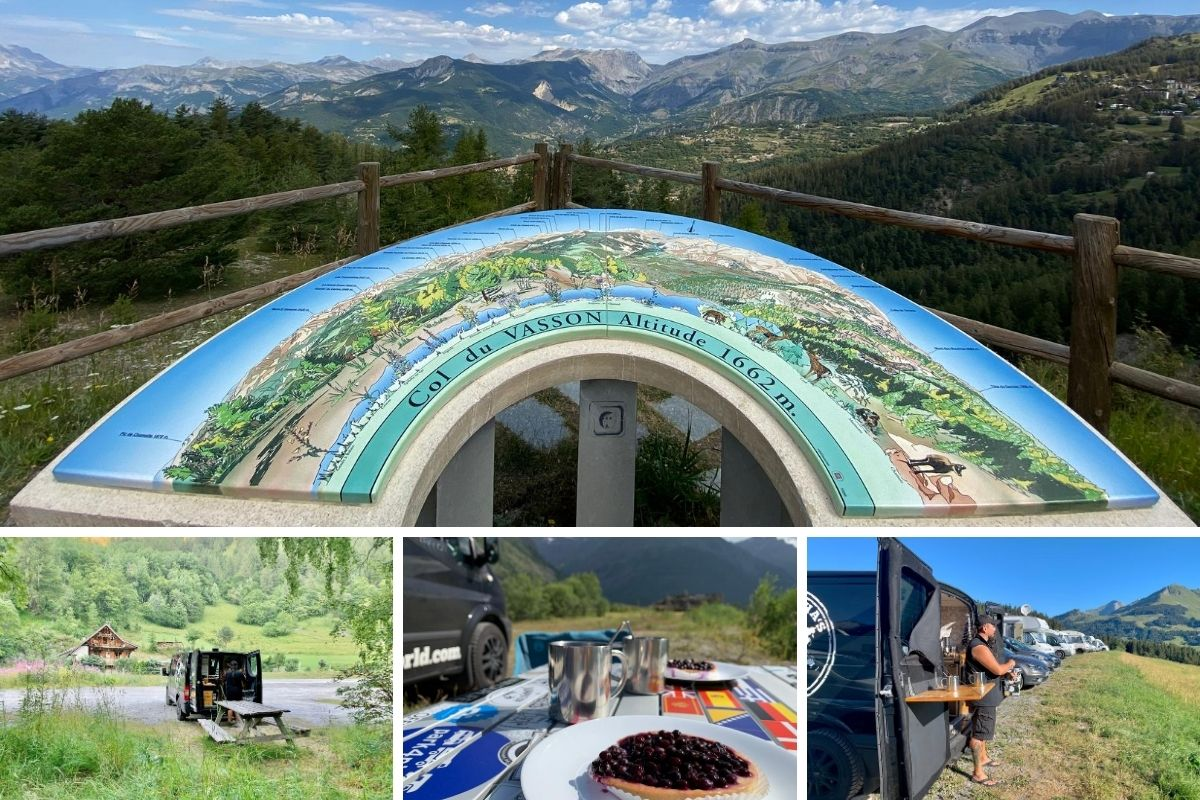 Patascha Reiseblog Roadtrip Reisen Frankreich Route des Grandes Alpes Alpenstrasse Berge Mittelmeer Camping Camper
